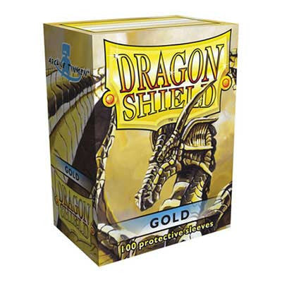 Dragon Shield Sleeves - Gold