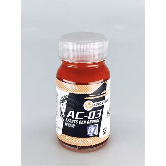 E7 AC-03 SPORTS CAR ORANGE 20ML