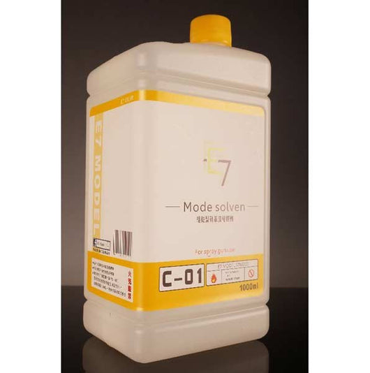 E7 C-01  Metallic Paint Thinner 1000ML