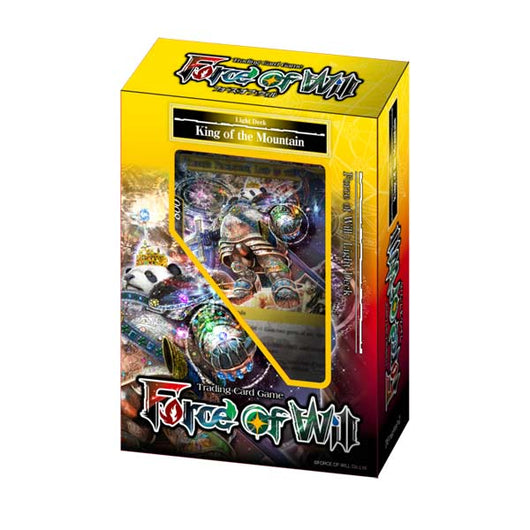 Force of Will Light Starter Deck - King of the Mountain