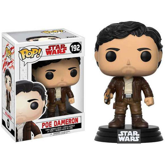 Funko POP Star Wars The Last Jedi #192 – Poe Dameron