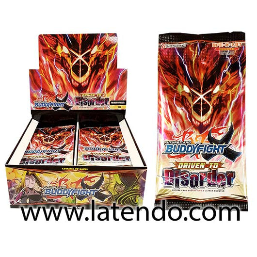 Future Card BuddyFight X Climax Booster – Driven to Disorder (Eng)