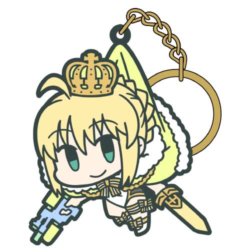 Fate/Grand Order Tsumamare Key Chain - Archer: Altria Pendragon