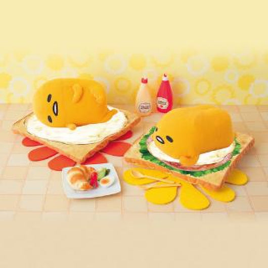 Gudetama Egg Toast BIG Plush