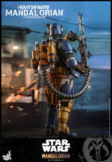 (PO) TMS010 - Star Wars: The Mandalorian 1/6th scale Heavy Infantry Mandalorian Collectible Figure (3)