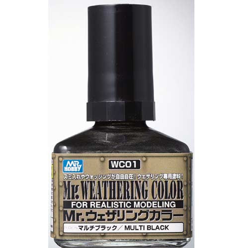 Mr.Weathering Color Multi Black