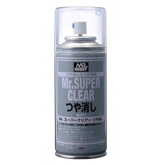 Mr. Super Clear Flat Spray