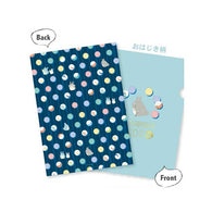 My Neighbor Totoro A4 Clear File (Blue)
