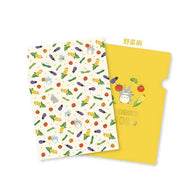 My Neighbor Totoro A4 Clear File (Orange)
