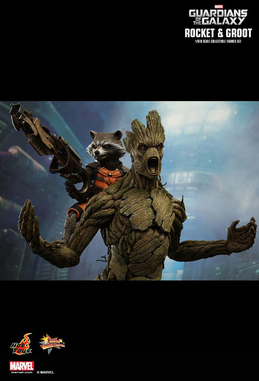 MMS254 - Guardians of the Galaxy Rocket & Groot set