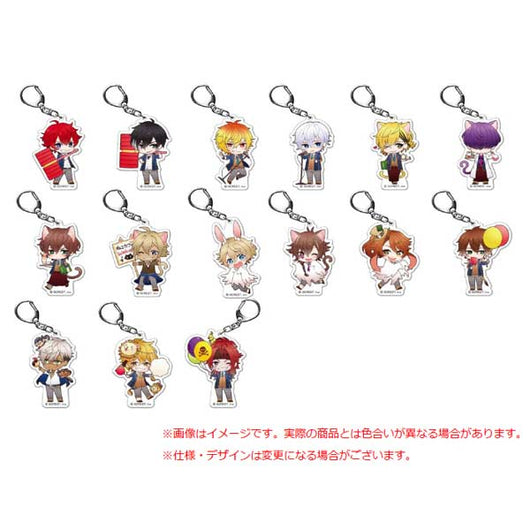 (PO) 100 Sleeping Princes & The Kingdom of Dreams Fortune Acrylic Key Chain School Festival Ver. (12)
