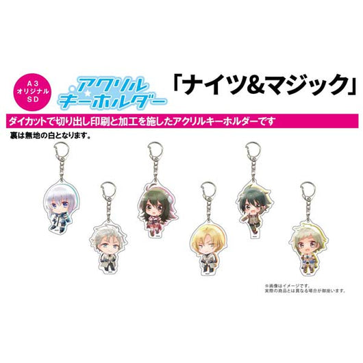 (PO) Acrylic Key Chain Knight's & Magic 01 (11)