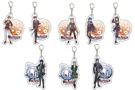 Acrylic Key Chain Sengoku Night Blood 03