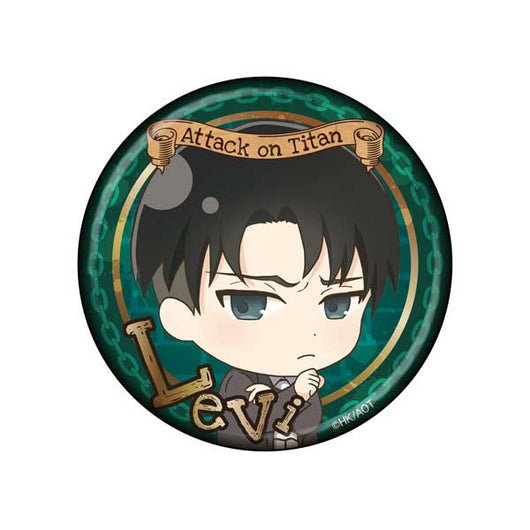 Attack on Titan Can Badge - Levi