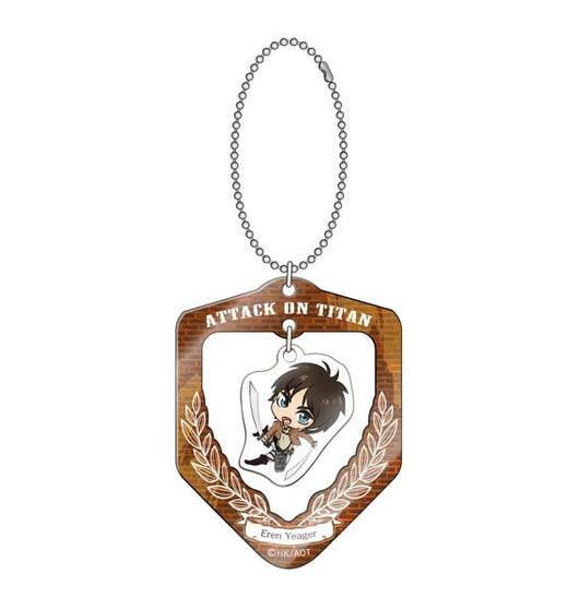 (PO) Attack on Titan Furifuri Key Chain - Eren (5)