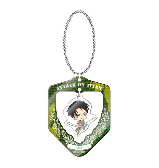 Attack on Titan Furifuri Key Chain - Levi
