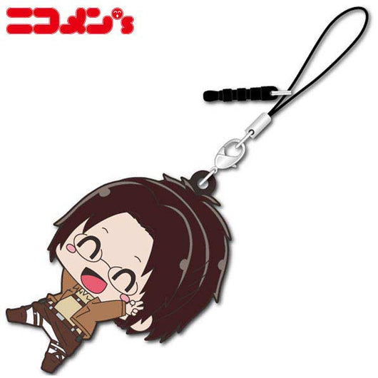 (PO) Attack on Titan Nikomens Rubber Mascot - Hans (7)