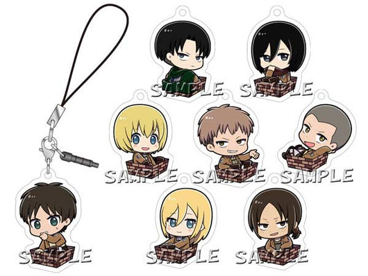 Attack on Titan Season 2 3way Charm Accessory Ver. A