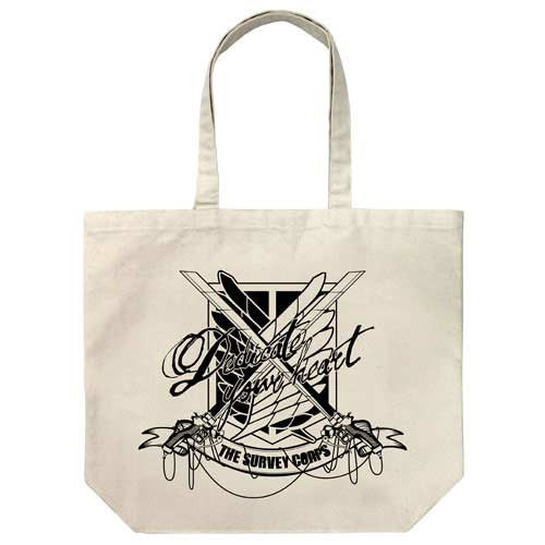 (PO) Attack on Titan Survey Corps Large Tote Bag (7)