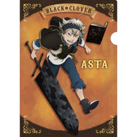 Black Clover Clear File Asta