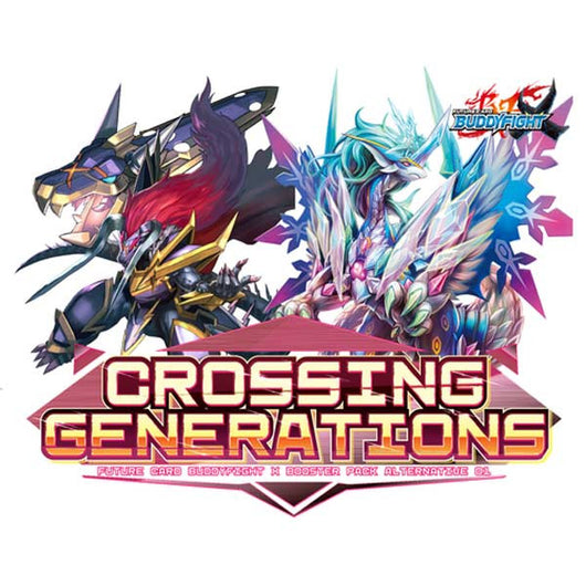 BuddyFight X Booster Vol.01A (Crossing Generations) (Eng)
