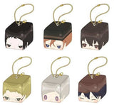 Bungou Stray Dogs Plush Key Chain Collection Face Cube
