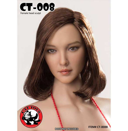 CT-008-B - Asian Female Head Sculpt