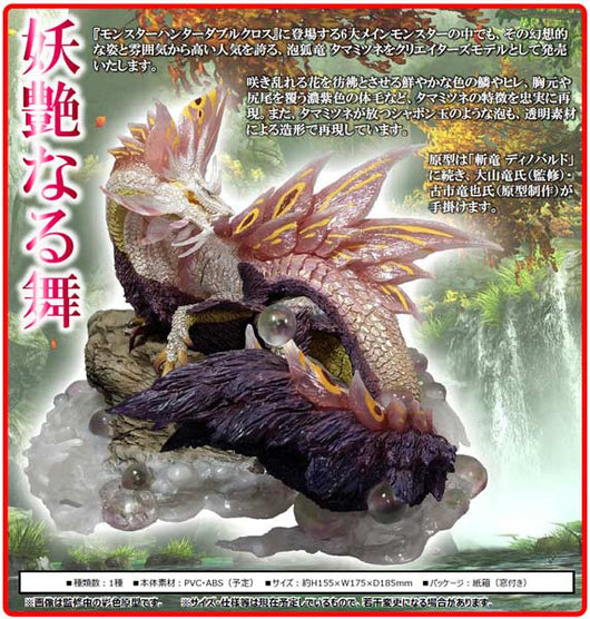 Capcom Figure Builder Creators Model Monster Hunter XX - Mizutsune