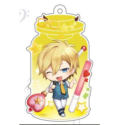 (PO) CharaToria Key Chain IDOLiSH7 - Rokuya Nagi (2)
