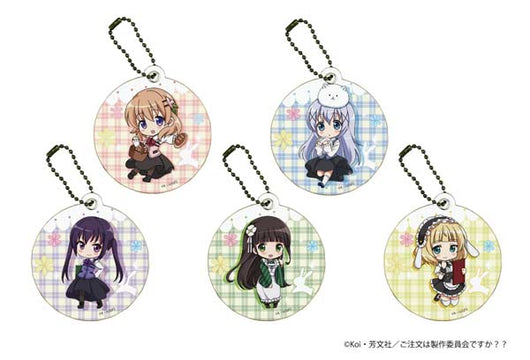 Chara Leather Charm Is the Order a Rabbit? 01