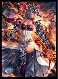 Chara Sleeve Matte Series Shadowverse - Mars, Silent Flame General No. MT434