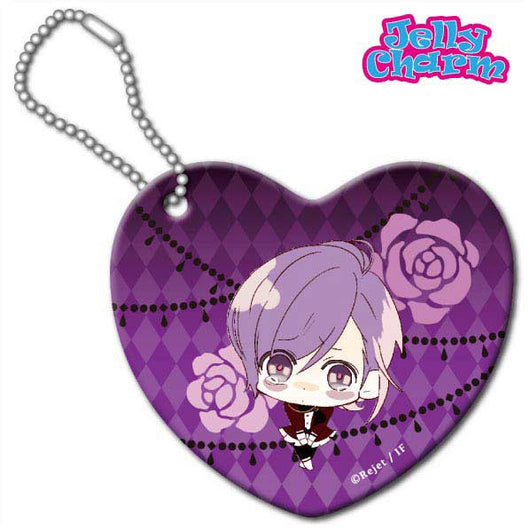 (PO) Diabolik Lovers Lost Eden Jelly Charm Heart Type - Kanato (6)