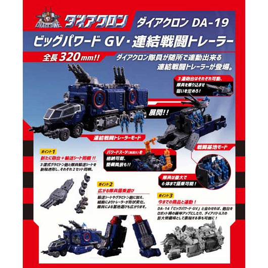 (PO) Diaclone DA-19 Big Powerd GV Concatenated Combat Trailer (3)