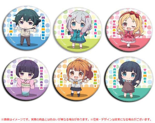 Ero Manga Sensei Fortune Can Badge Hug Love Ver.