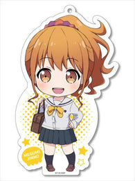 (PO) Ero Manga Sensei Original Illustration Big Acrylic Key Chain - Jinno Megumi (7)