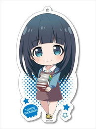 (PO) Ero Manga Sensei Original Illustration Big Acrylic Key Chain - Takasago Tomoe (7)