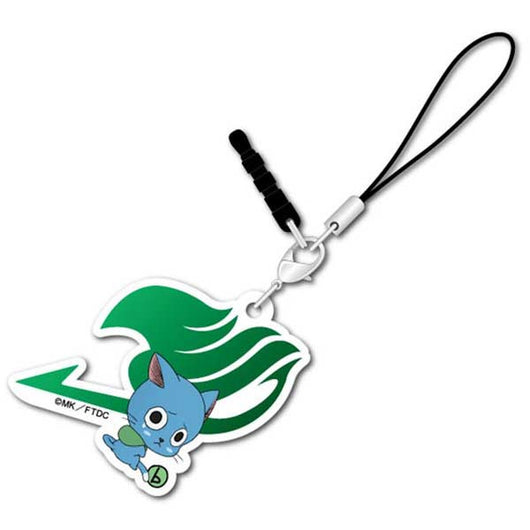 (PO) Fairy Tail: Dragon Cry Bocchi-kun Acrylic Charm - Happy (5)