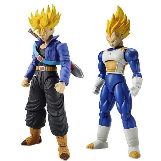 (PO) Figure-rise Standard Dragonball - Super Saiyan Trunks & Vegeta DX set (7)