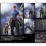 Final Fantasy VII Advent Children Play Arts Kai - Cid Highwind & Cait Sith