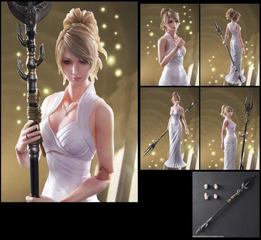 Final Fantasy XV Play Arts Kai - Lunafreya Nox Fleuret