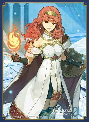 Fire Emblem Cipher Matte Card Sleeve Celica No. FE50