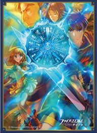 (PO) Fire Emblem Cipher Matte Card Sleeve Ike No. FE63 (3)