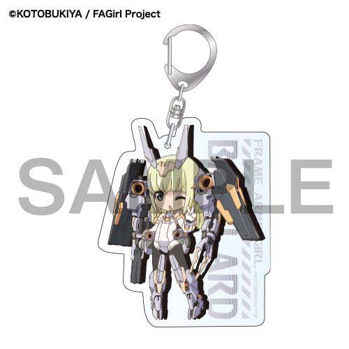 (PO) Frame Arms Girl SD Acrylic Key Chain - Baselard (7)