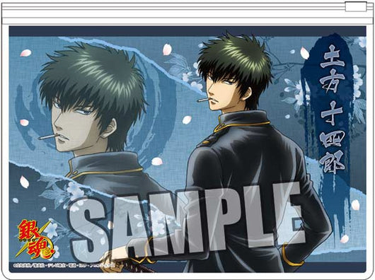 (PO) Gintama Flat Clear Case Part. 2 - Hijikata Toshiro (6)