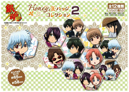 (PO) Gintama Honey Can Badge Collection 2 (10)