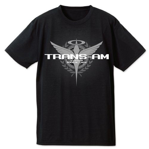 Gundam 00 TRANS-AM Dry T-Shirts (Black)