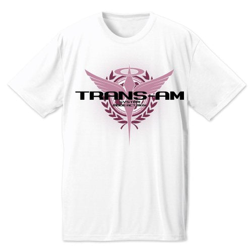 Gundam 00 TRANS-AM Dry T-Shirts (White)