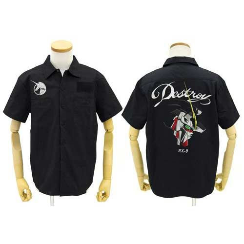 (PO) Gundam UC - Unicorn Gundam Embroidery Work Shirt (12)