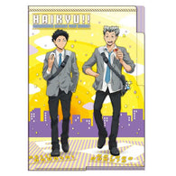 Haikyu! 3 Pocket Clear File Going Back - Bokuto & Akaashi