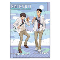 Haikyu! 3 Pocket Clear File Going Back - Oikawa & Iwaizumi